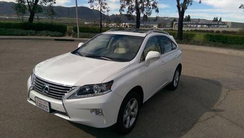2015 Lexus RX 350 for sale at Motorworks in Temecula CA
