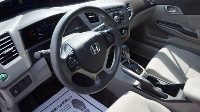 2012 Honda Civic LX 4dr Sedan 5A - Old Hickory TN