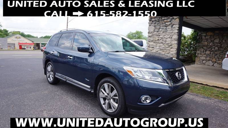 2014 Nissan Pathfinder Hybrid Platinum 4dr Suv In Old Hickory Tn