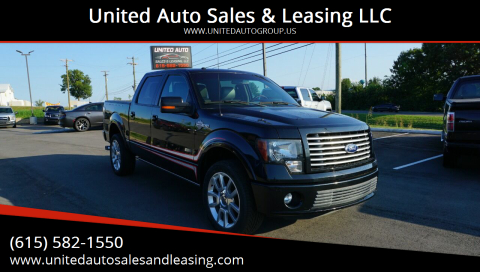 2011 Ford F-150 for sale at United Auto Sales & Leasing LLC in La Vergne TN