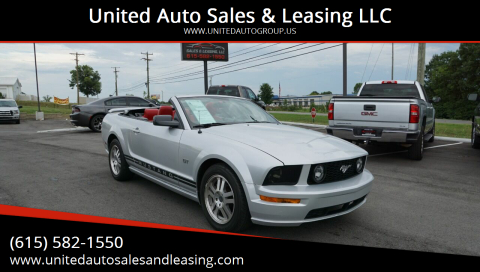 2005 Ford Mustang for sale at United Auto Sales & Leasing LLC in La Vergne TN
