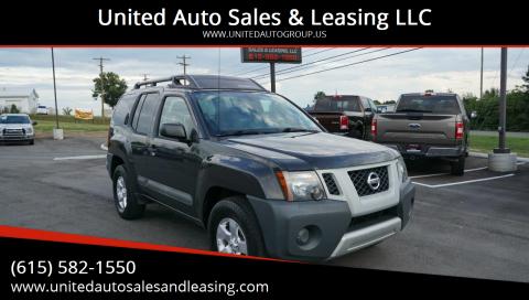 2012 Nissan Xterra for sale at United Auto Sales & Leasing LLC in La Vergne TN
