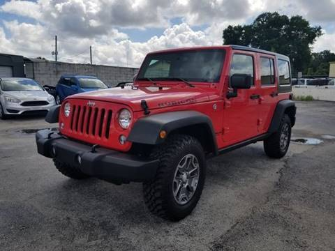 2017 Jeep Wrangler Unlimited for sale in Orlando, FL