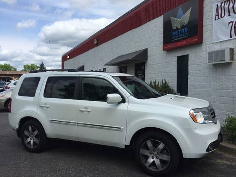 2012 Honda Pilot for sale at METRO AUTO SALES LLC in Blaine MN