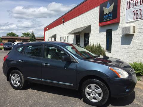 2012 Nissan Rogue for sale at METRO AUTO SALES LLC in Blaine MN