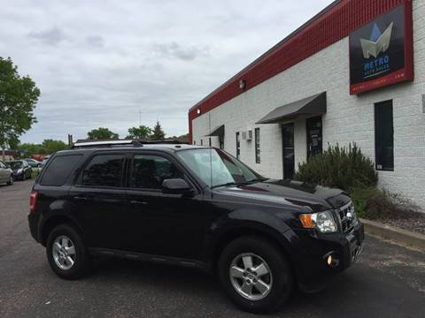 2011 Ford Escape for sale at METRO AUTO SALES LLC in Blaine MN