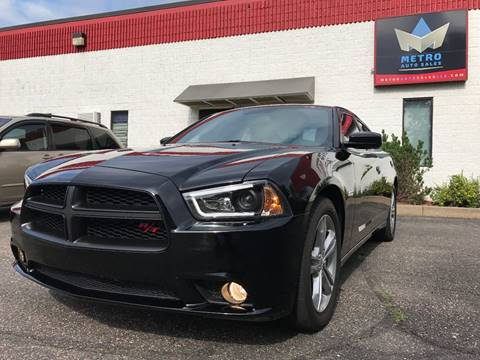 2012 Dodge Charger for sale at METRO AUTO SALES LLC in Blaine MN