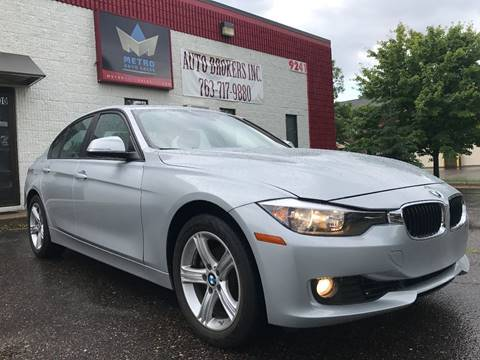 2015 BMW 3 Series for sale at METRO AUTO SALES LLC in Blaine MN