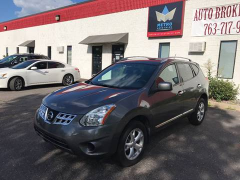 2011 Nissan Rogue for sale at METRO AUTO SALES LLC in Blaine MN