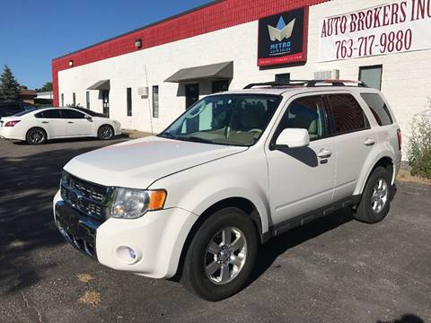 2012 Ford Escape for sale at METRO AUTO SALES LLC in Blaine MN