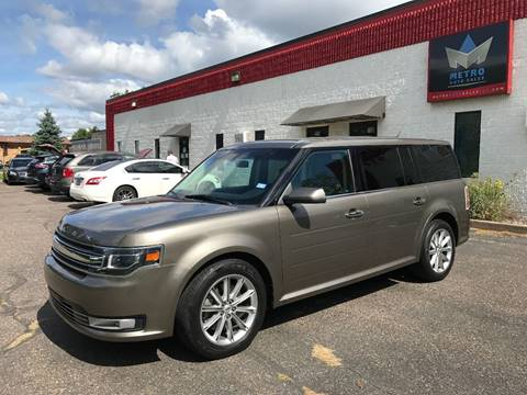 2013 Ford Flex for sale at METRO AUTO SALES LLC in Blaine MN