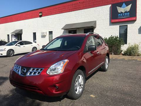2015 Nissan Rogue Select for sale at METRO AUTO SALES LLC in Blaine MN