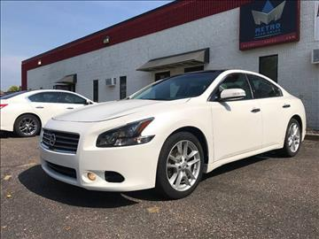 2011 Nissan Maxima for sale at METRO AUTO SALES LLC in Blaine MN