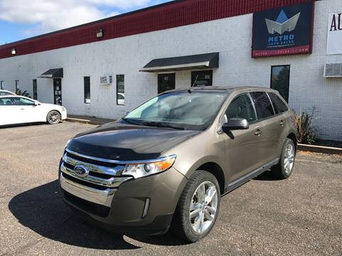 2012 Ford Edge for sale at METRO AUTO SALES LLC in Blaine MN