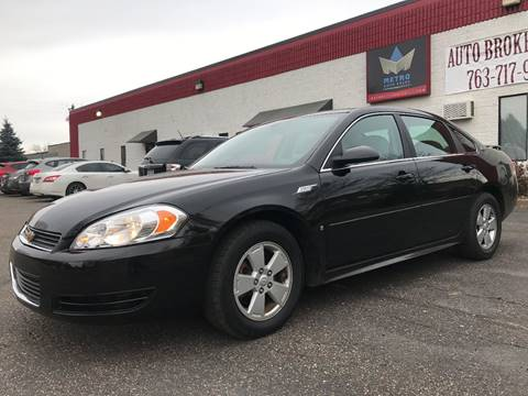2009 Chevrolet Impala for sale at METRO AUTO SALES LLC in Blaine MN