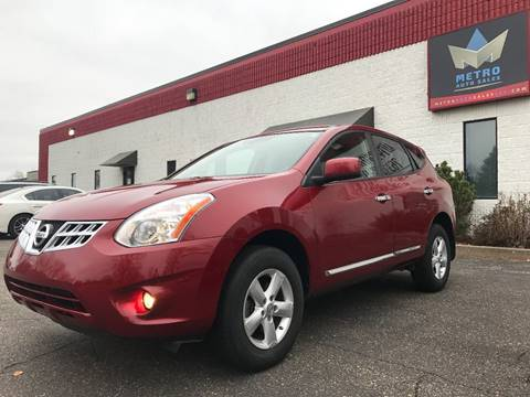 2013 Nissan Rogue for sale at METRO AUTO SALES LLC in Blaine MN