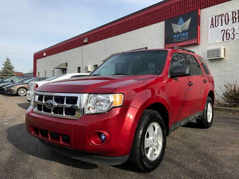 2010 Ford Escape for sale at METRO AUTO SALES LLC in Blaine MN