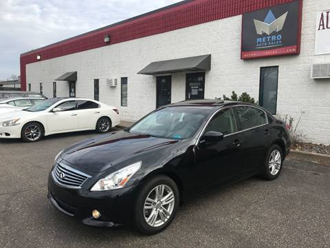 2011 Infiniti G37 Sedan for sale at METRO AUTO SALES LLC in Blaine MN