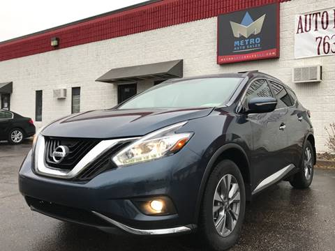 2015 Nissan Murano for sale at METRO AUTO SALES LLC in Blaine MN