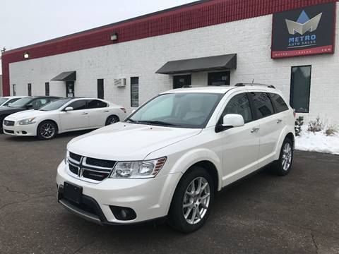 2014 Dodge Journey for sale at METRO AUTO SALES LLC in Blaine MN