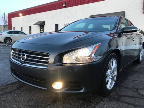2012 Nissan Maxima for sale at METRO AUTO SALES LLC in Blaine MN
