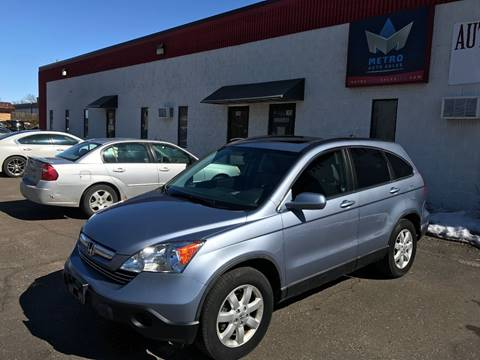 2008 Honda CR-V for sale at METRO AUTO SALES LLC in Blaine MN