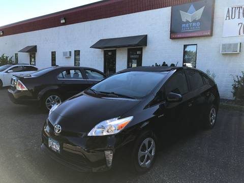 2014 Toyota Prius for sale at METRO AUTO SALES LLC in Blaine MN