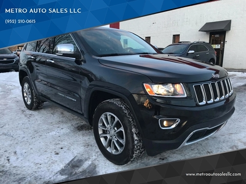 2016 Jeep Grand Cherokee for sale at METRO AUTO SALES LLC in Blaine MN