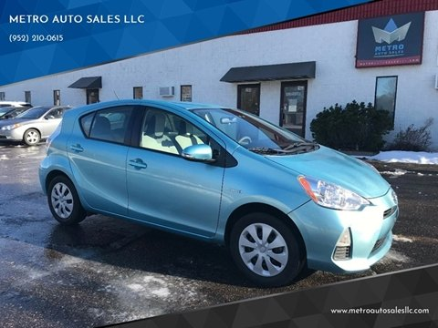 2014 Toyota Prius c for sale at METRO AUTO SALES LLC in Blaine MN