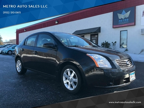 2007 Nissan Sentra for sale at METRO AUTO SALES LLC in Blaine MN