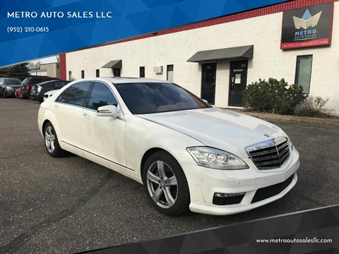 2010 Mercedes-Benz S-Class for sale at METRO AUTO SALES LLC in Blaine MN