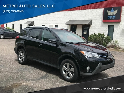 2015 Toyota RAV4 for sale at METRO AUTO SALES LLC in Blaine MN