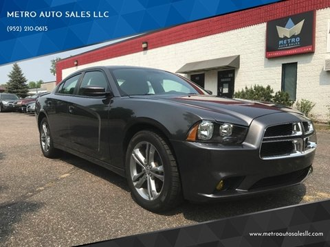 2013 Dodge Charger for sale at METRO AUTO SALES LLC in Blaine MN