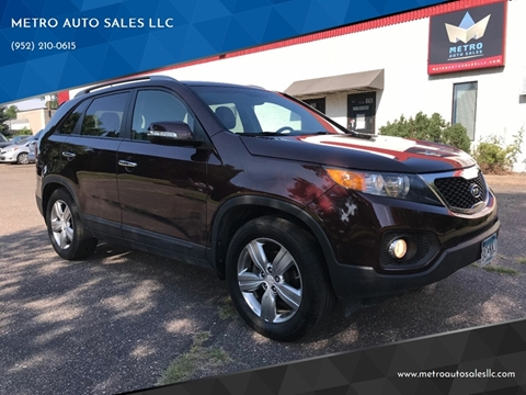 2013 Kia Sorento for sale at METRO AUTO SALES LLC in Blaine MN