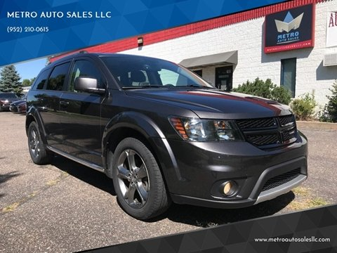 2016 Dodge Journey for sale at METRO AUTO SALES LLC in Blaine MN