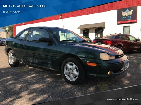 1998 Dodge Neon for sale in Blaine, MN