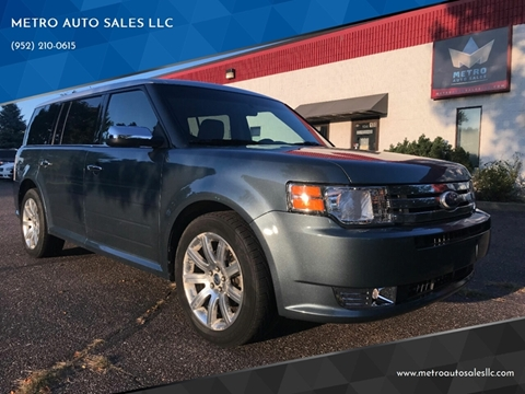 2010 Ford Flex for sale at METRO AUTO SALES LLC in Blaine MN