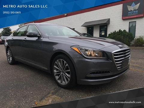 2015 Hyundai Genesis for sale at METRO AUTO SALES LLC in Blaine MN