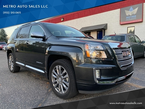 2017 GMC Terrain for sale at METRO AUTO SALES LLC in Blaine MN