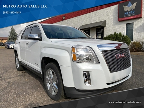 2014 GMC Terrain for sale at METRO AUTO SALES LLC in Blaine MN