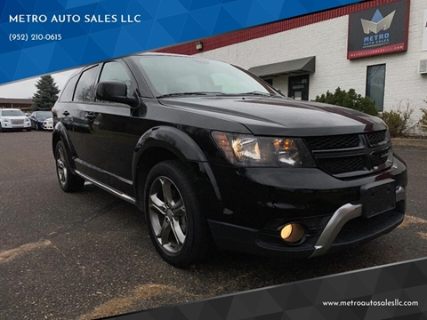 2017 Dodge Journey for sale at METRO AUTO SALES LLC in Blaine MN