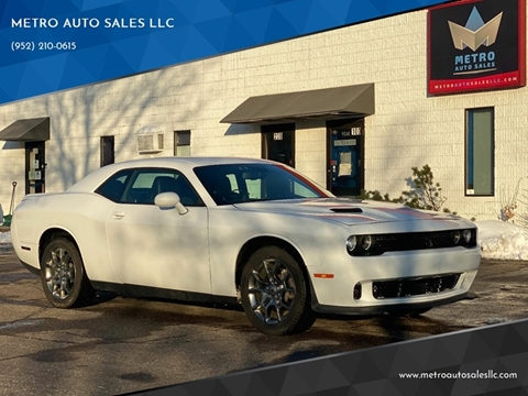 2017 Dodge Challenger for sale at METRO AUTO SALES LLC in Blaine MN