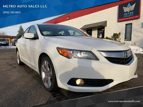 2014 Acura ILX for sale at METRO AUTO SALES LLC in Blaine MN