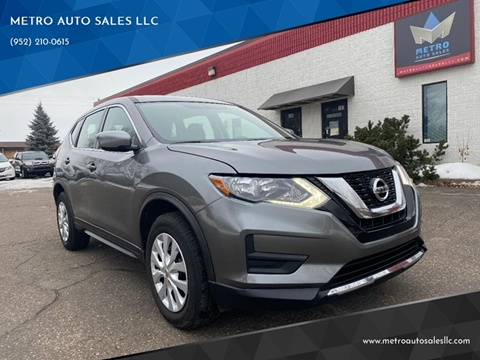 2018 Nissan Rogue for sale at METRO AUTO SALES LLC in Blaine MN