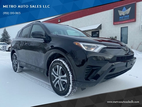2017 Toyota RAV4 for sale at METRO AUTO SALES LLC in Blaine MN