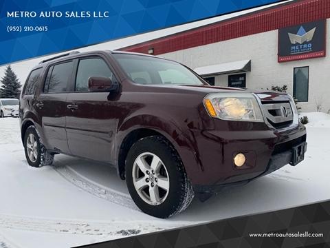 2011 Honda Pilot for sale at METRO AUTO SALES LLC in Blaine MN
