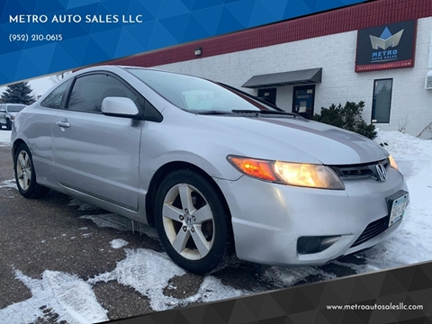 2006 Honda Civic for sale at METRO AUTO SALES LLC in Blaine MN
