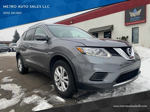2016 Nissan Rogue for sale at METRO AUTO SALES LLC in Blaine MN