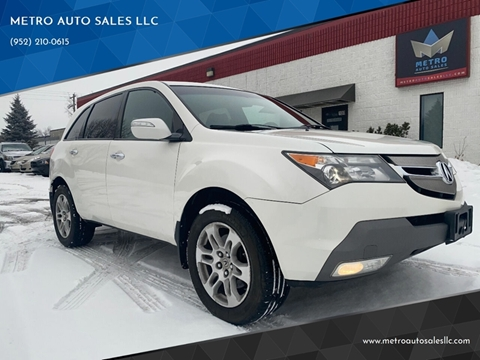 2007 Acura MDX for sale at METRO AUTO SALES LLC in Blaine MN