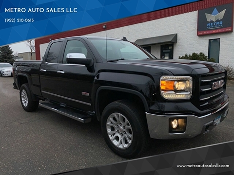 2015 GMC Sierra 1500 for sale at METRO AUTO SALES LLC in Blaine MN